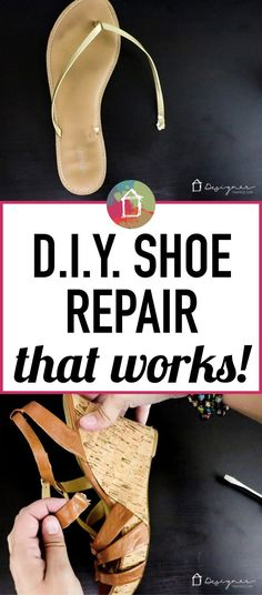 Do you have a bunch of cute sandals and shoes with broken straps? It seems to happen to me ALL the time and always out in public. Now I have a DIY shoe repair solution that allows me to repair my shoes at home in about 1 minute for less than a dollar a pair!