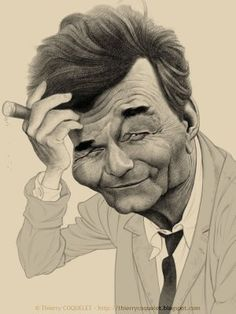 Peter Falk, alias Columbo