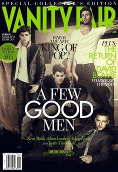 Zayn Malik, Adam Lambert, Adam Lavine, & Justin Timberlake.