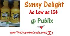 Sunny Delight Citrus Punch As Low As $0.15 @ Publix with unadvertised sale from 9/14 or 9/15 through 9/20 or 9/21. Add this deal to your list  Click the link below to get all of the details ► http://www.thecouponingcouple.com/sunny-delight-citrus-punch-as-low-as-0-15-publix/ #Coupons #Couponing #CouponCommunity  Visit us at http://www.thecouponingcouple.com for more great posts!