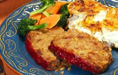 Meat Loaf -- A perfect Mrs. Dash recipe -  #saltsubstitute #nosalt #lowsodium #meatloaf