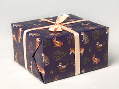 Farm Animals Wrapping Paper for Christmas gift door clapclapdesign, $9.00