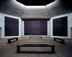 The Rothko Chapel in Houston / photo by Hickey-Robertson