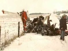♡♥Buddy Holly, Ritchie Valens and JP Richardson plane crash♥♡