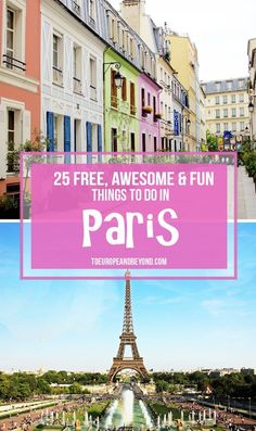 How to Visit Paris and Not Spend a Centime on Attractions via @marievallieres