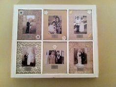 Vintage window - picture frame