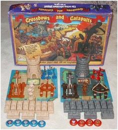 Crossbows and Catapults - My brother had this one.