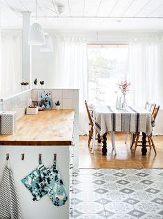 Näin suunnittelet toimivan ja avaran keittiön