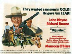 Big Jake quad movie poster