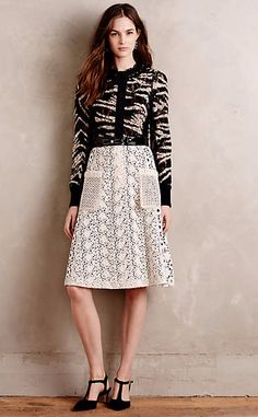 Leopardo Lace Dress #anthroregistry