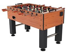 The American Legend Manchester Foosball Table offers excellent quality and playability to make your rec room or basement the envy of the neighborhood.