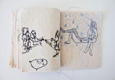 pktt A.O Z.M 2013 Office Supplies, Notebook, Textiles, Fabrics, The Notebook, Exercise Book, Textile Art, Notebooks