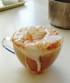 Who says this delicious seasonal treat has to come from a store? You'll want to drink this homemade version all autumn long. Pumpkin Spice Latte!
