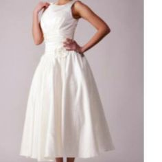 """Brand New """"light in the box"""" retro wedding dress Brand new, never worn """"light in the box"""" retro wedding dress. Found a different dress before the wedding. Make me an offer!!! Light in the Box Dresses"""