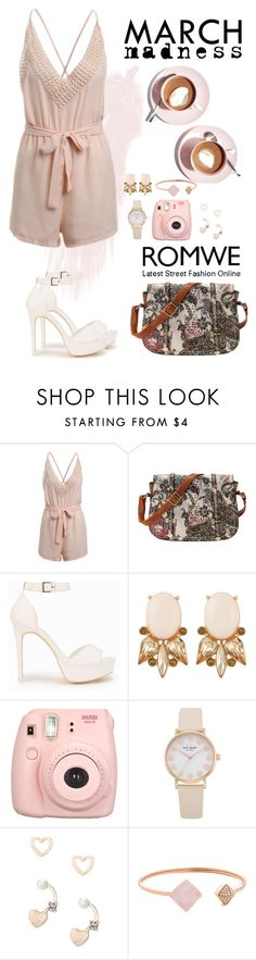 """Romwe 8"" by amra-f ❤ liked on Polyvore featuring Nly Shoes, Martha Stewart, Lipsy and Michael Kors"