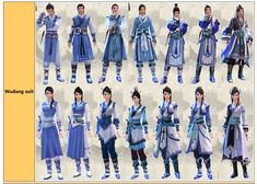 Age of Wulin School Outfits Pictures   GuideScroll