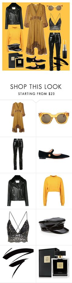 """""""Unbenannt #106"""" by carmen1965 ❤ liked on Polyvore featuring Ulla Johnson, Marc Jacobs, Yeezy by Kanye West, Rochas, Nobody Denim, Avon and John Lewis"""