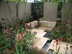 """A City Garden"", designer Sarah Price's 2007 RHS Chelsea Flower Show entry; silver medal winner."
