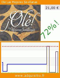 Ole Las Mejores Sevillanas (CD). Réduction de 72%! Prix actuel 21,00 €, l'ancien prix était de 75,29 €. http://www.adquisitio.fr/pid/ole-las-mejores