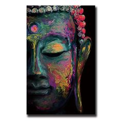When I saw this Painting I had to have it. I love it so much. Abstract Buddha <3