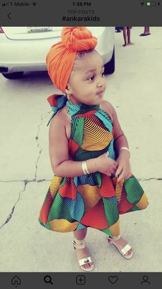 Cute girl#purity wangui Baby African Clothes, African Dresses For Kids, African Children, Latest African Fashion Dresses, African Print Dresses, Dresses Kids Girl, African Print Fashion, Kids Outfits, Girls