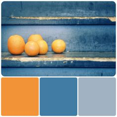 Bryce is always asking for blue, i could work with this tangerine and blue gray combo...love