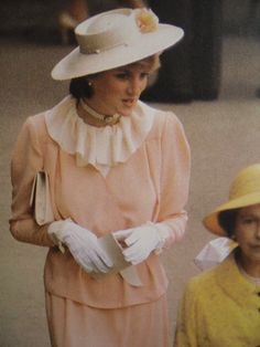 June 17, 1981: Lady Diana Spencer at Royal Ascot in London.