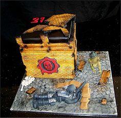 Xbox Gears Of War Cake