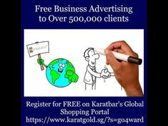 Free business advertising worldwide Reach customers worldwide in over 120 countries. Karatbars global shopping p.