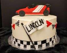 Boy Cakes, Cakes For Boys, Race Cars, Desserts, Food, Drag Race Cars, Tailgate Desserts, Deserts, Eten