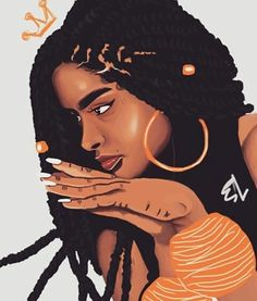 Black Love Art, Black Girl Art, Black Girls Rock, Black Is Beautiful, Black Girl Magic, Art Girl, African American Art, African Art, Art Et Design