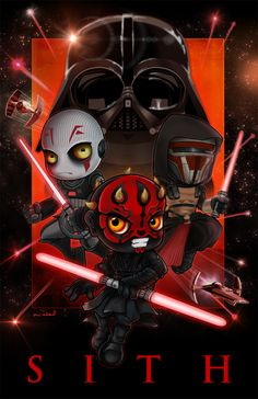 Part 3 of my Star Wars series featuring the dark side