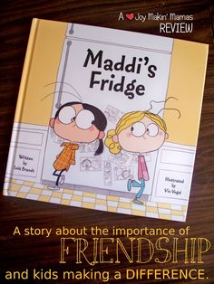 Maddi's Fridge by Lois Brandt Vin Vogel Review by Joy Makin' Mamas