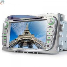 EONON D5161E Spesialspiller For Ford Mondeo, Focus Og S-Max Sølv Med GPS
