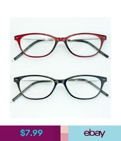ebaf8db3af7 Reading Glasses Womens Small Wayfarer Retro Reading Glasses Black Full  Frame Readers Cheaters Rx  ebay  Fashion