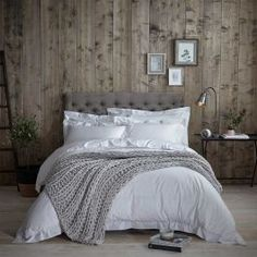 Richmond Bedding Collection - Made from smooth yet crisp 200 thread count superior cotton percale and finished with a delicate hemstitch.