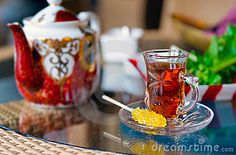 No Persian meal is complete without tea!