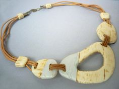 Ivory Coast necklace by Stefani1702