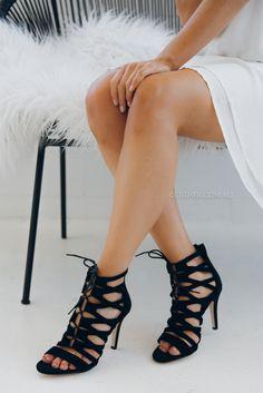 nude footwear opulent shoes - black  