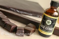 A Feast for the Eyes: Black Licorice Caramels.  LOVE this blog and this recipe is absolute perfection!!