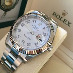 Huge collection of Datejust II's in stock, which one are you searching for?