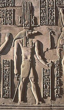 crocodile god Sobek Kom Ombo Egypt