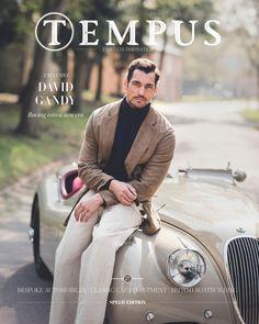 "David Gandy ""New cover of Tempus Media magazine, issue David Gandy Style, David James Gandy, David Gandy Suit, Men Photography, Fashion Photography, Famous Male Models, Androgynous Models, Jaguar Xk, Italian Fashion Designers"