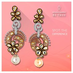 Spot the differences! #Fashion #Jewellery #DiamondJewellery #Style