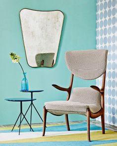 В своей лондонской квартире декоратор Марк Перидис окружил себя предметами мебели, которые он продает в собственной галерее по соседству.