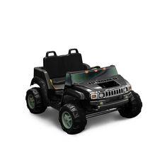 National Products 12V Hummer H2 Ride-On, Black