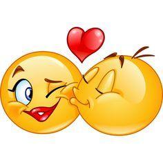 Emoticon Kiss Emoji Vector Images (over Facebook Emoticons, Funny Emoticons, Smileys, Smiley Emoji, Images Emoji, Emoji Pictures, Funny Emoji Faces, Emoticon Faces, Love Smiley