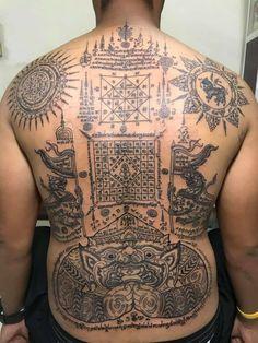 Sak Yant Tattoo, Thai Tattoo, Tattoos, Thailand Tattoo, Tatuajes, Tattoo, Tattos, Tattoo Designs