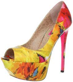 Amazon.com: Betsey Johnson Women's Bridgitt Platform Pump: Betsey Johnson: Shoes