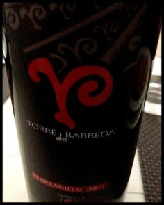 El Alma del Vino.: Bodega Torre de Barreda Tempranillo 2011.